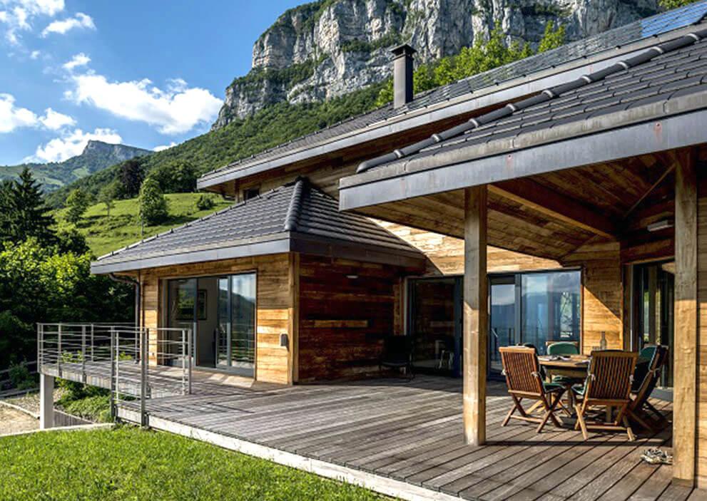 Maison Scmc Maisons Ossature Bois Savoie Haute Savoie