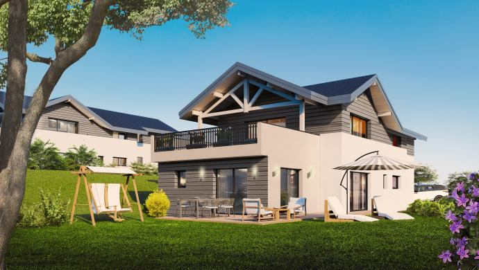 Appartements T4 d'exception avec jardin privatif ou terrasse